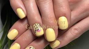 Фото наращивание ногтей